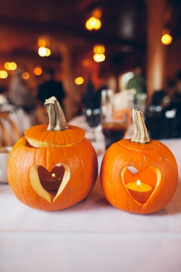 A Pumpkin and a Candle