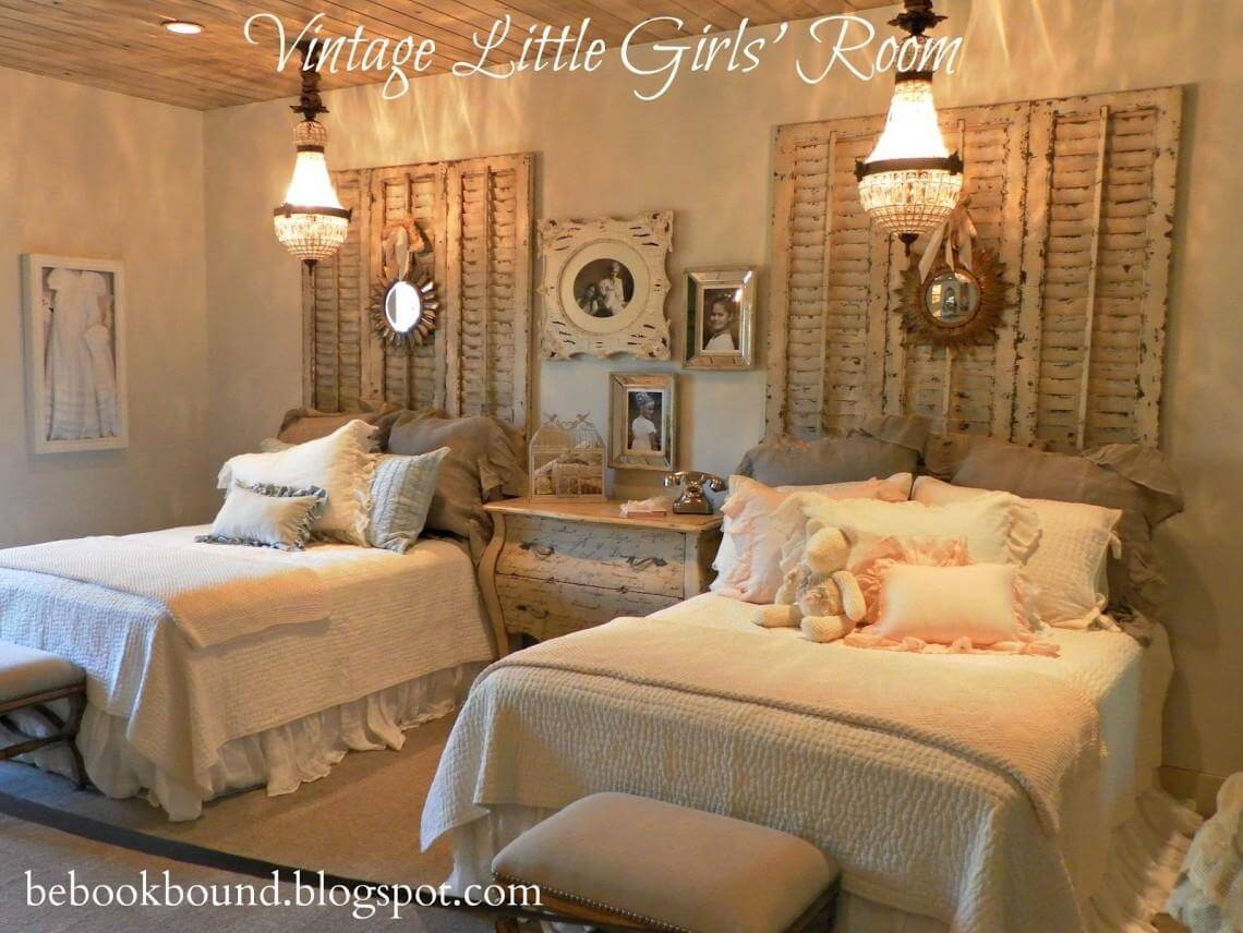 A Vintage Bedroom for Two