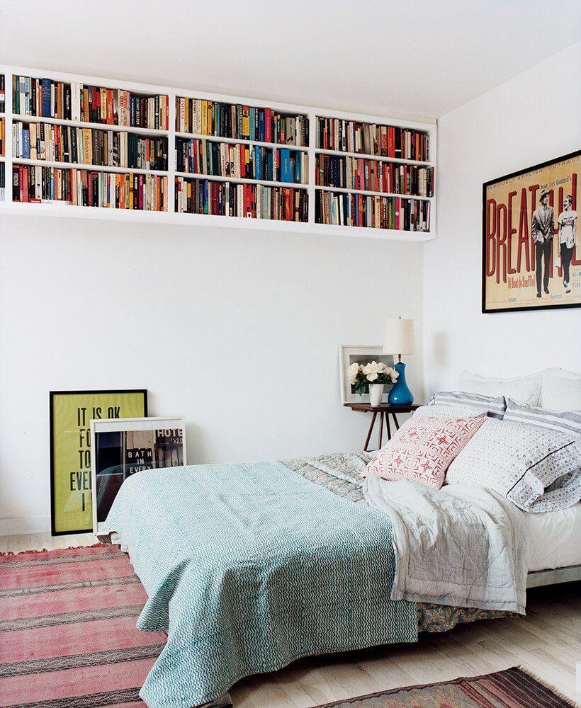 High Rise Sectioned Bookshelf