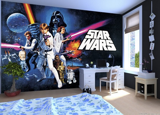 Going Classic with Star Wars Room Decor Ideas
