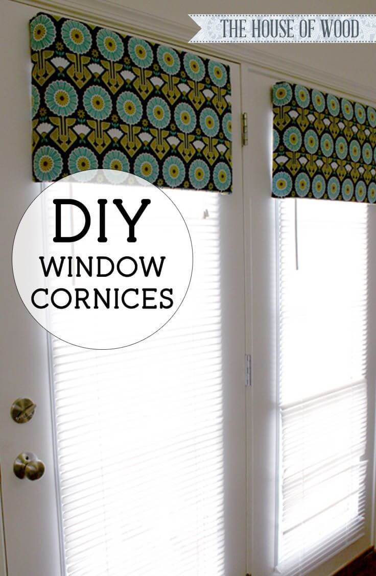 Customize Cornices with Your Chosen Fabric