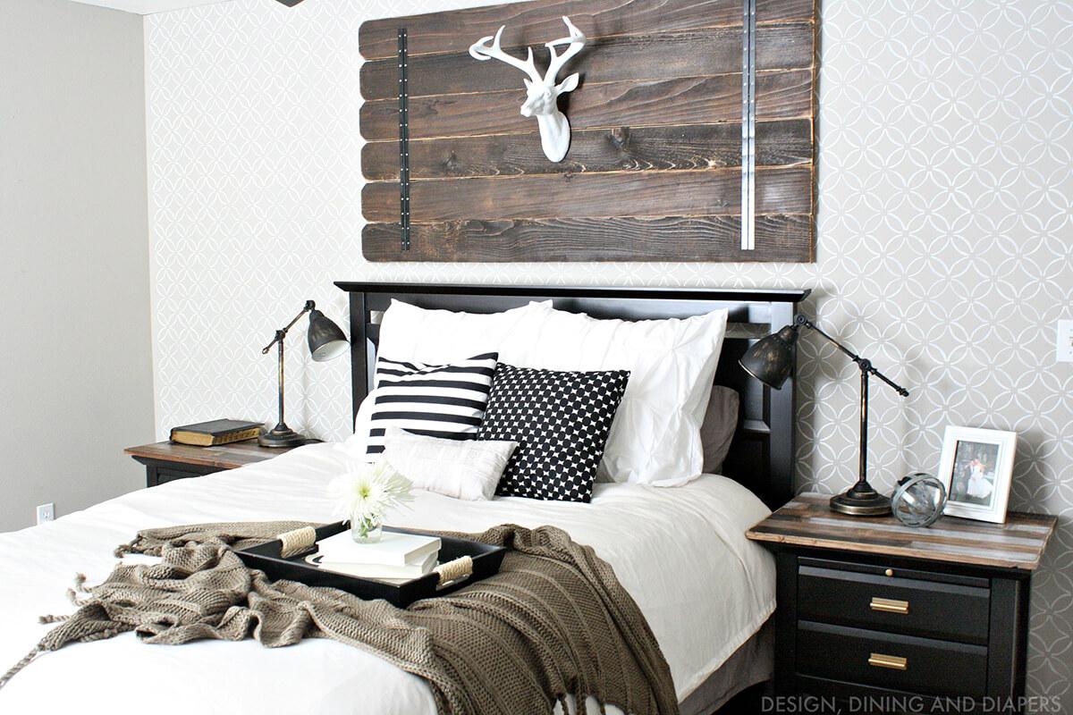Modernist Cabin Faux Deer Mount