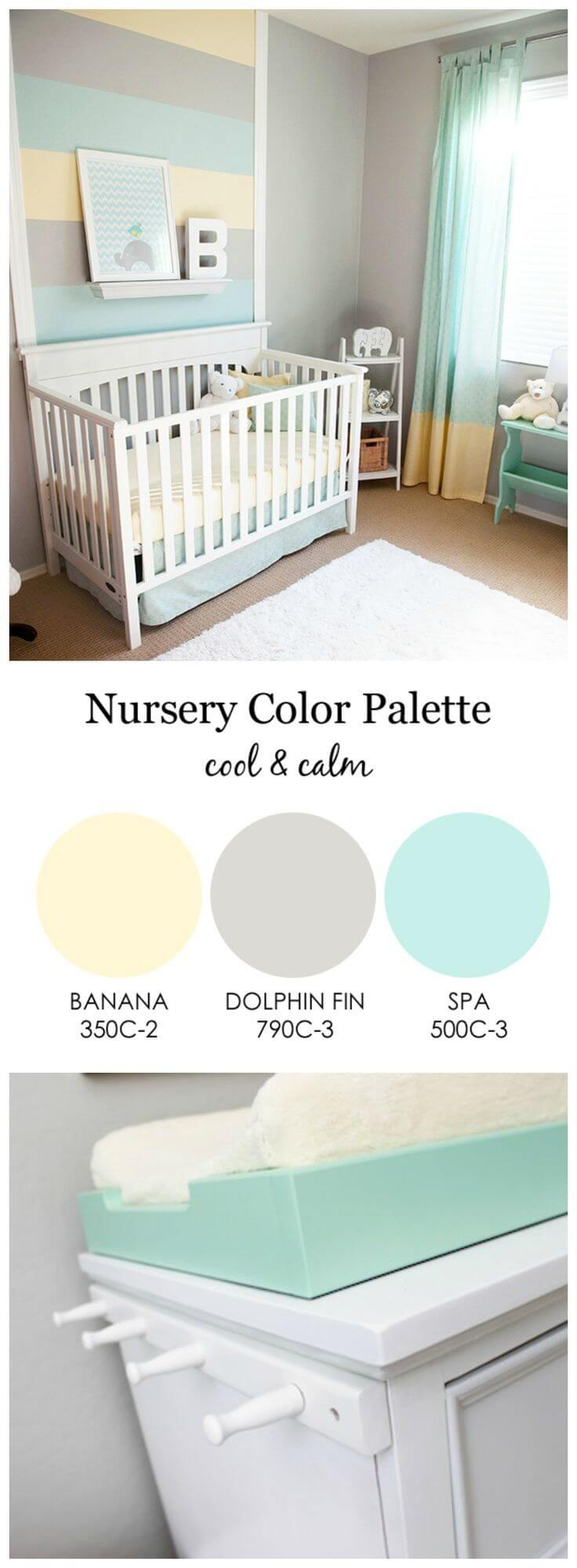 Gray is the New Addition to Nursery Color Palettes