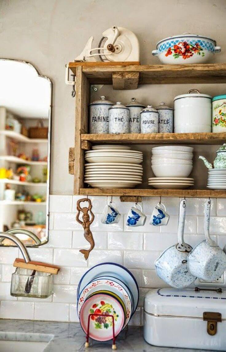 33 Vintage Kitchen Design Decor Ideas Homebnc Rina Watt Blogger Home Diy And Recipes