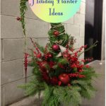 34 Festive Outdoor Holiday Planter Ideas To Decorate Your Front Porch For Christmas