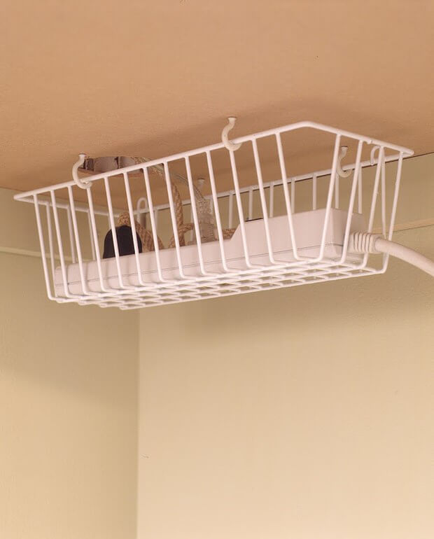 High and Dry Power Strip Basket