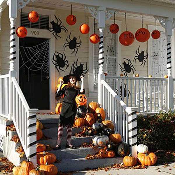 Halloween Pumpkin Entrance