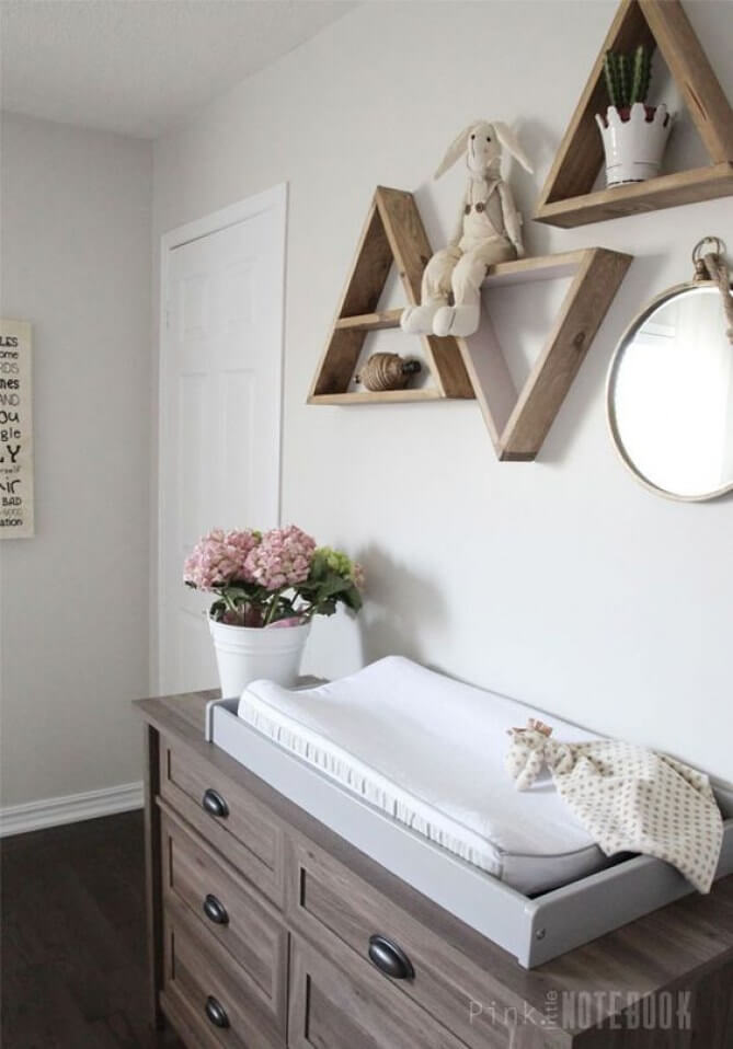 Simple Wood Tones and Neutrals are Clean and Inviting