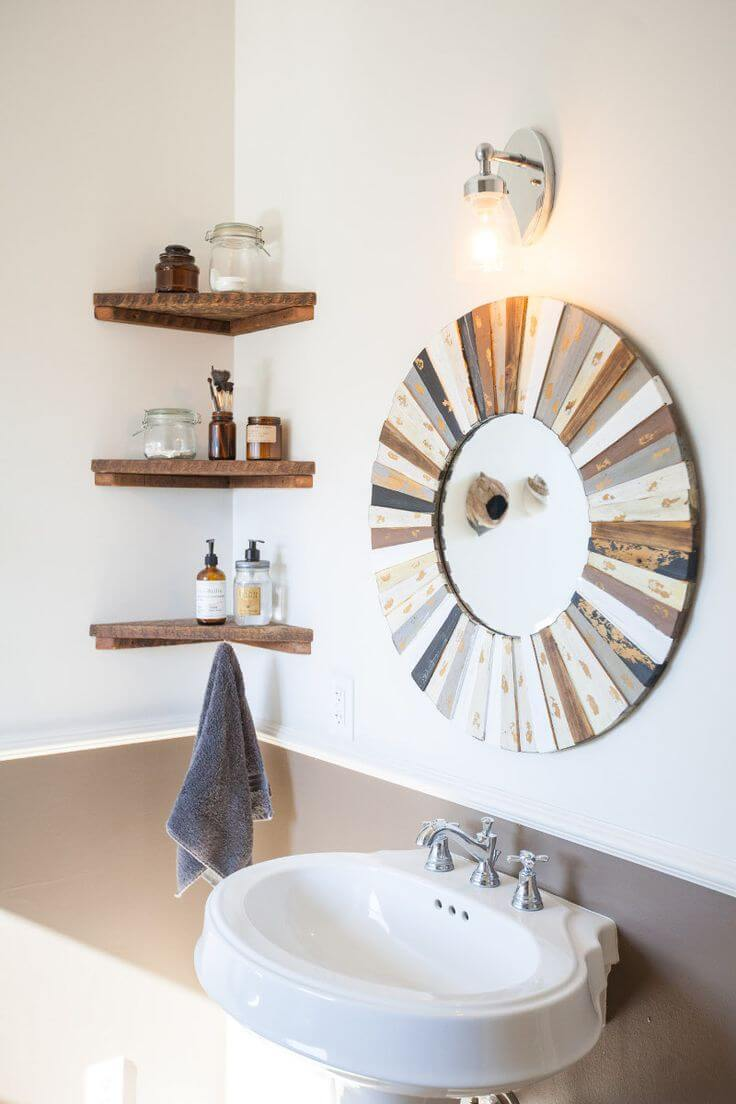 Handy Shelves for the Bathroom