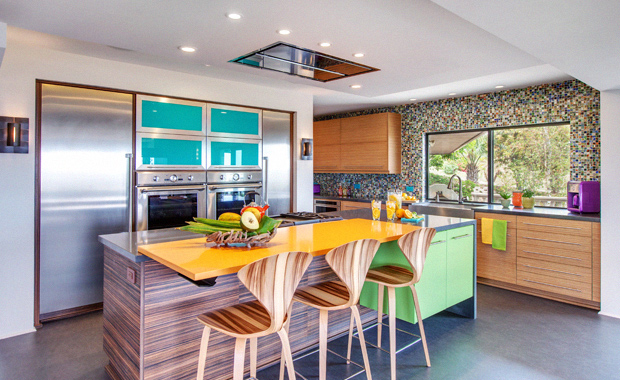 Colorful Kitchen Design Tips