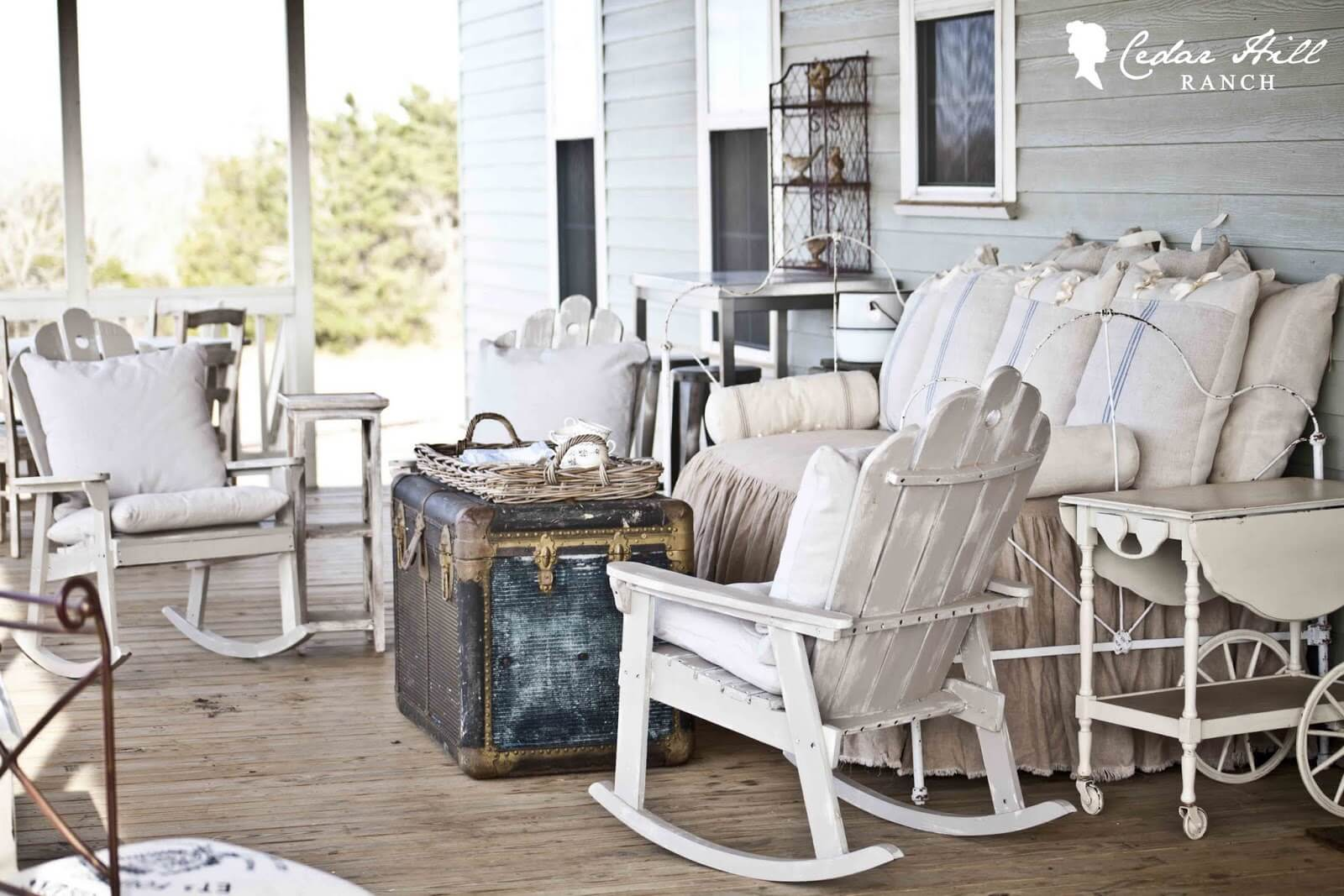 Lived In and Lived On Outdoor Furniture