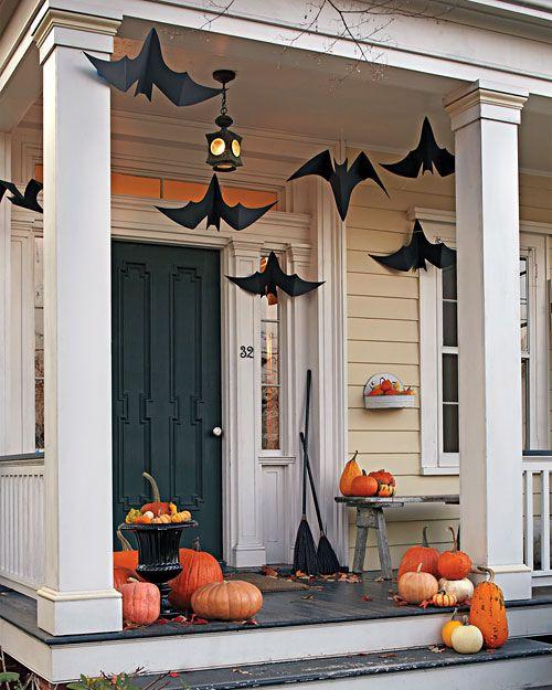 Flying Bats for Halloween