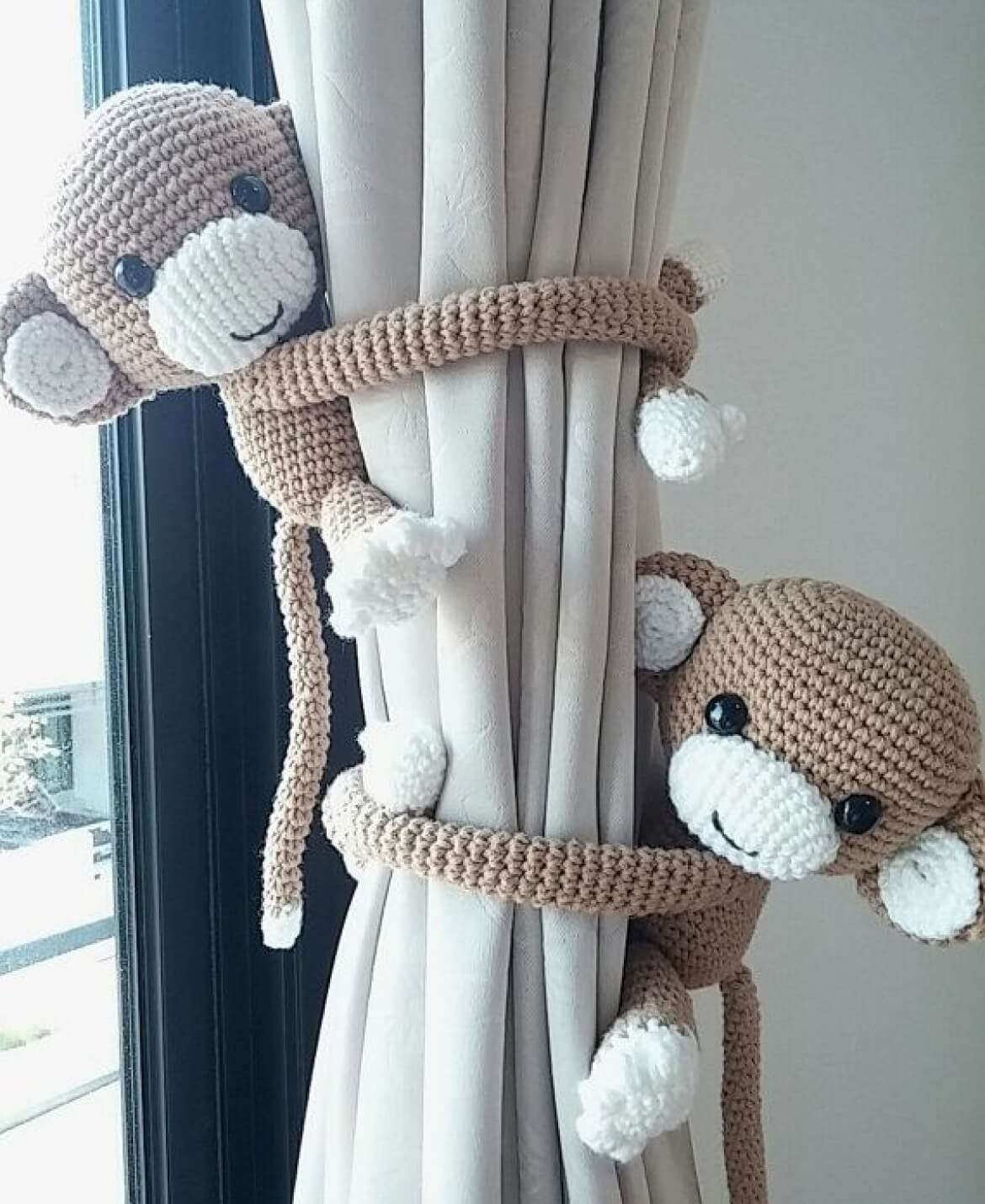 Crocheted Monkeys are a Sweet Touch