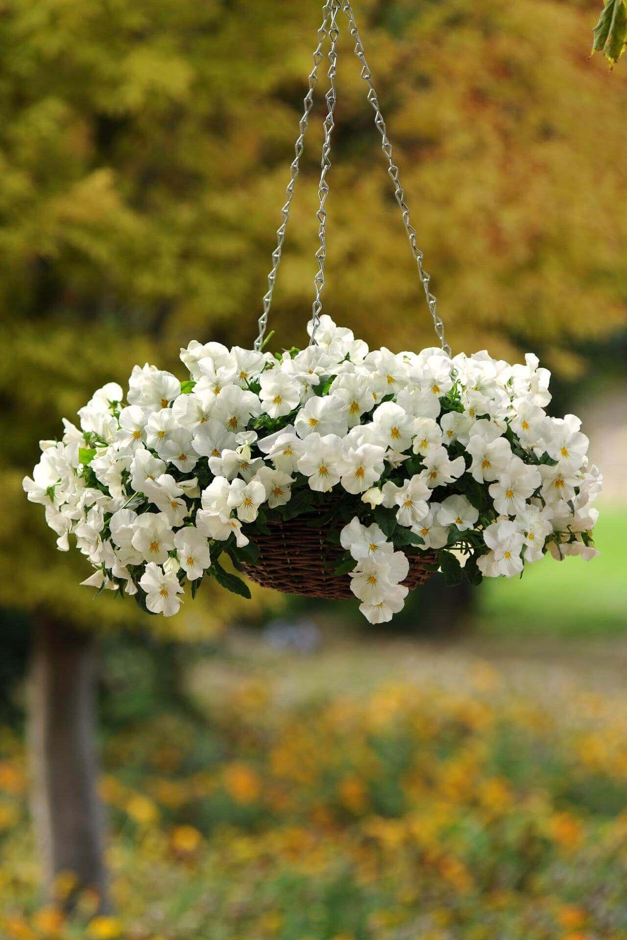 Sweetly Simple Woven Flower Basket