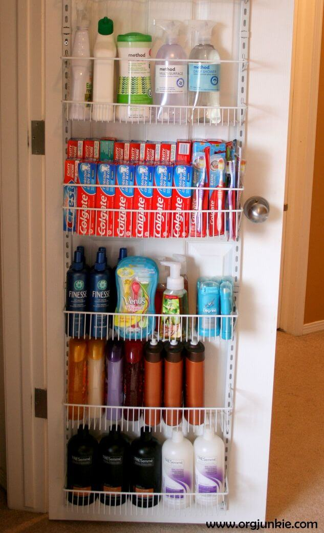 Extra Bathroom Space for Extreme Couponers