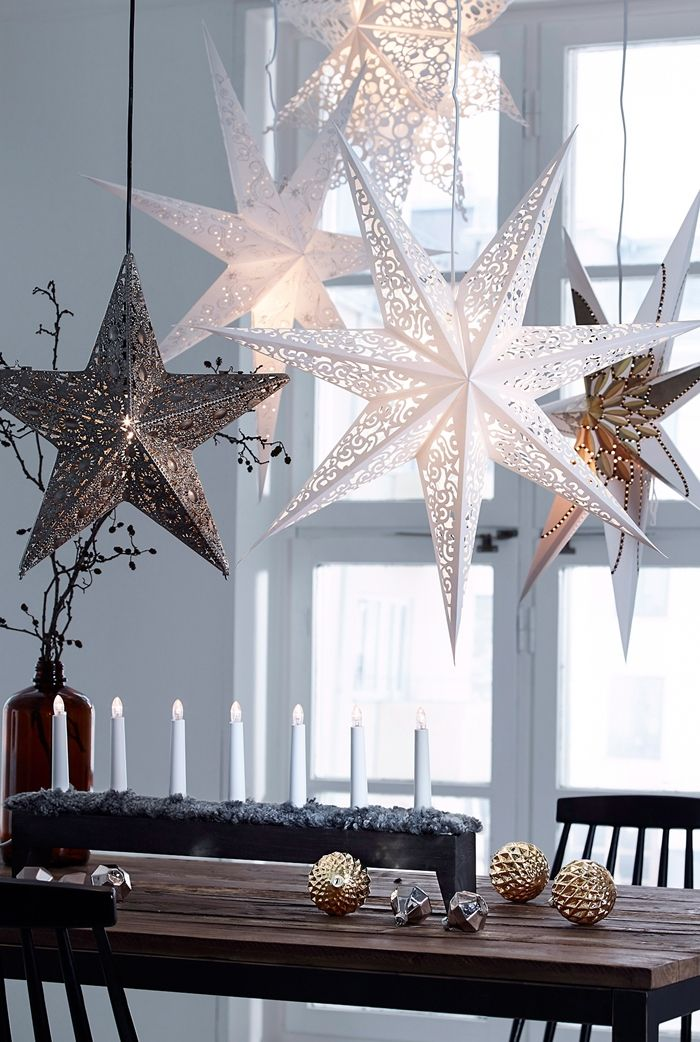 Jul Star Ornaments