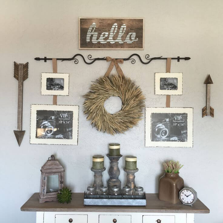 Wrought Iron Piecemeal Prairie Wall Decorations