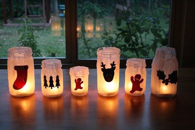 Happy Holiday Luminaries