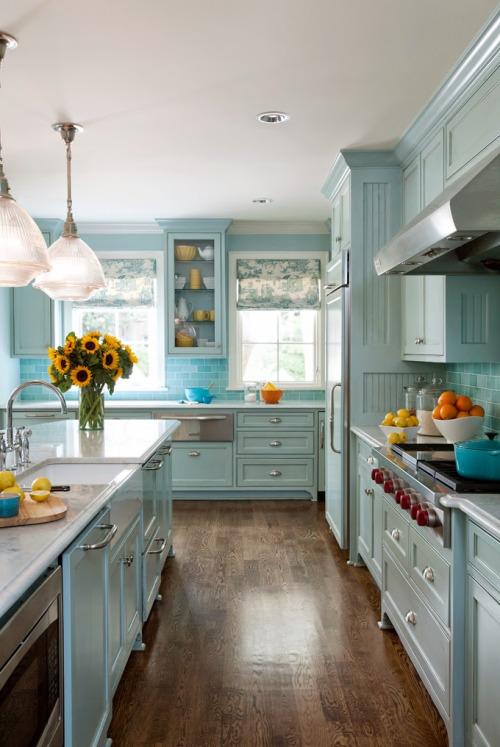 Pastel Kitchen Decoration Idea