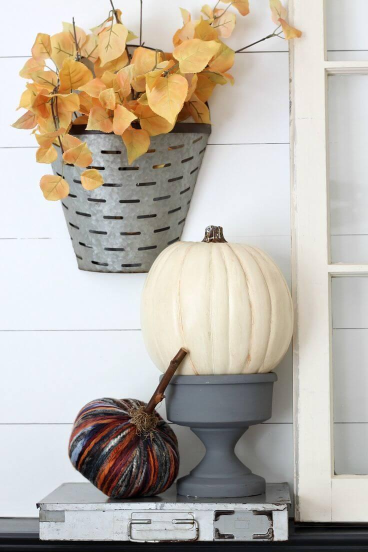 A Pumpkin on a Pedestal