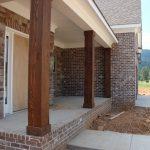 Cedar Columns Installed