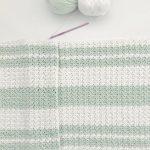 Free Pattern – Modern Double Crochet V-Stitch Blanket