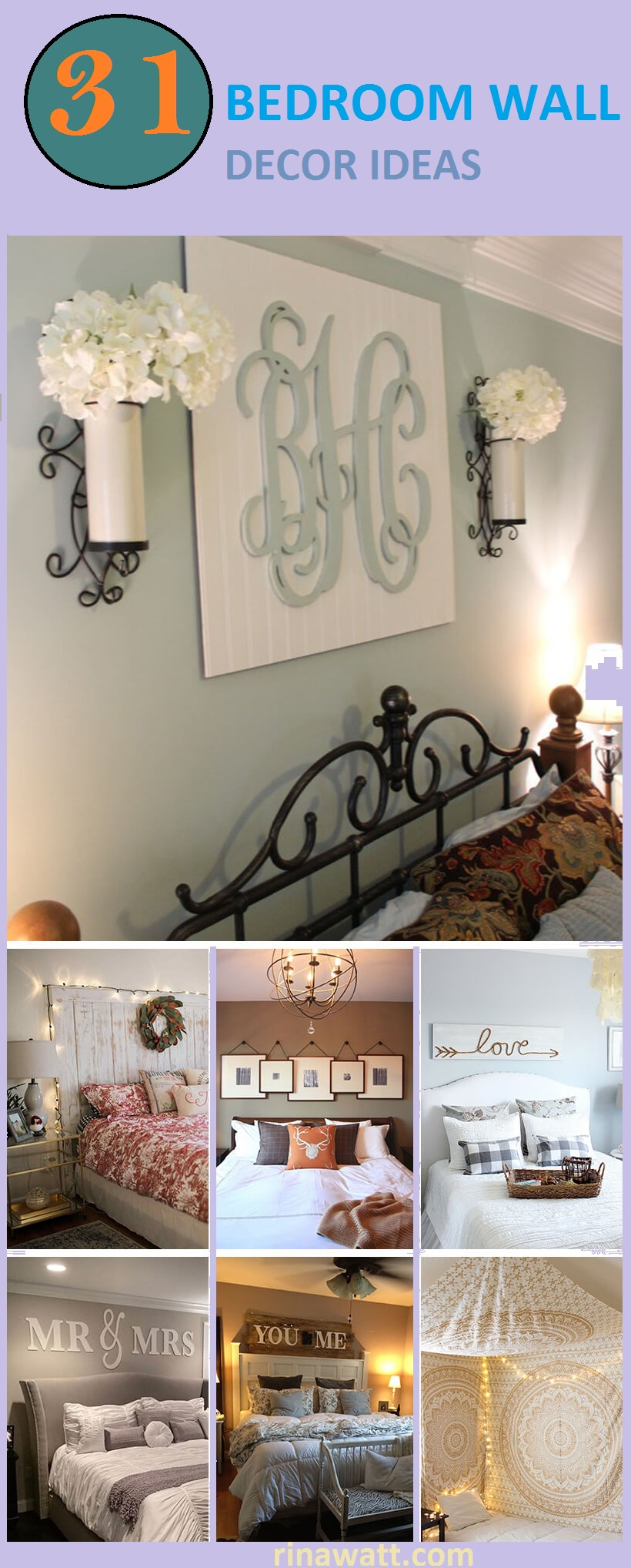 25 Classy Bedroom Wall Decor Ideas To Style Up Your Space Rina