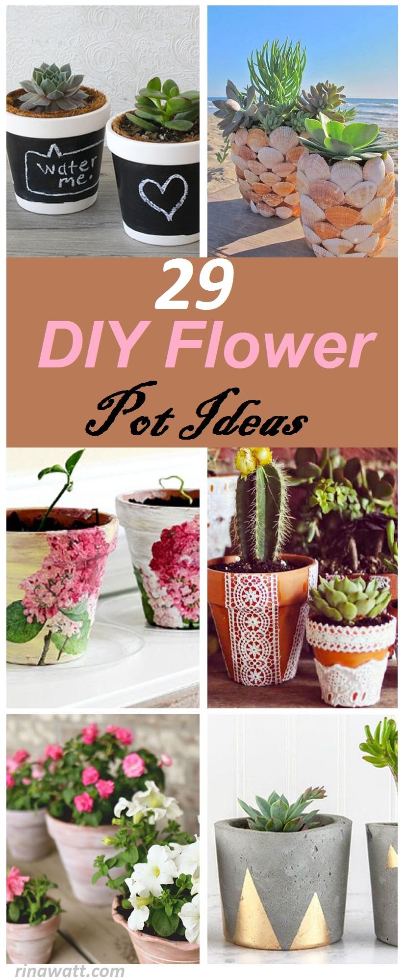 29 Fresh As A Daisy Diy Flower Pot Ideas For Stylish Gardeners