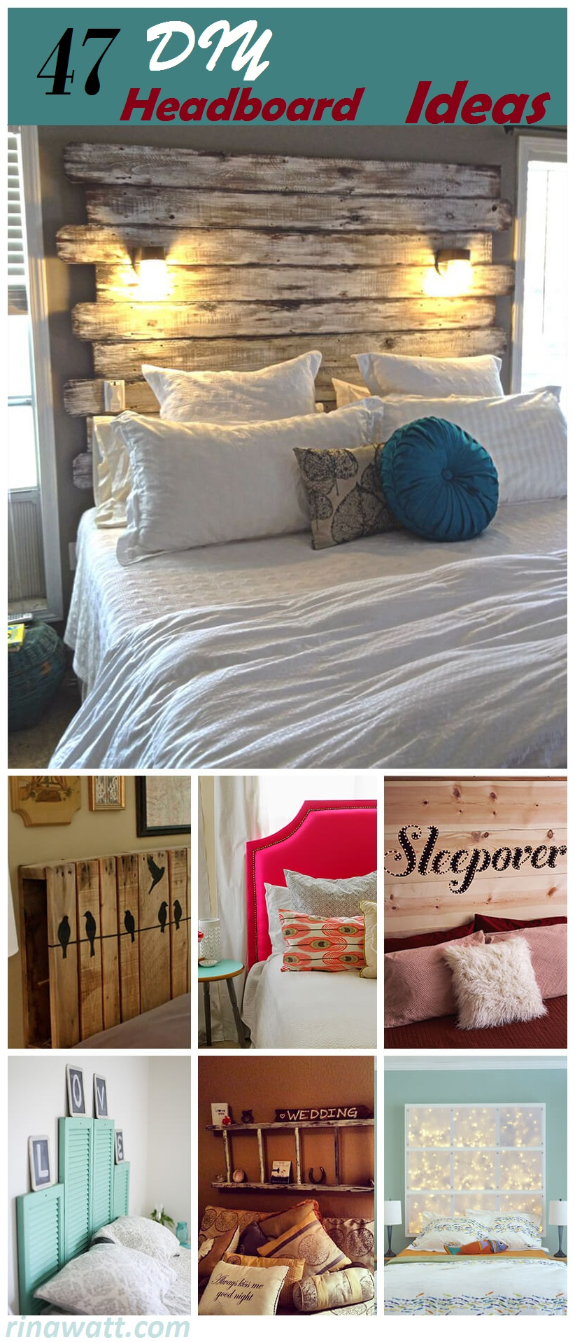 47 Of The Best Ways To Use Diy Headboards To Create The Room Of