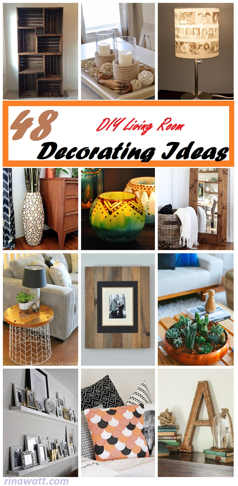 45+ Inspiring DIY Living Room Decorating Ideas for Designers ...
