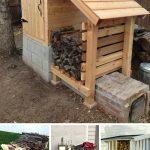 diy-outdoor-firewood-rack-ideas-pinterest-share-homebnc