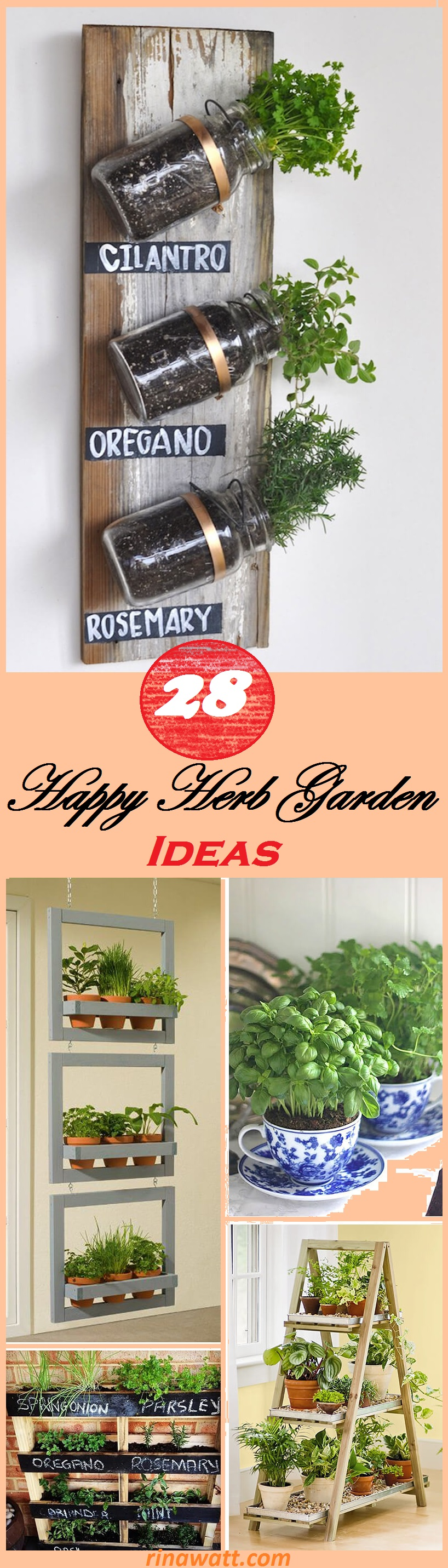 25 Creative Herb Garden Ideas For Indoors And Outdoors Rina