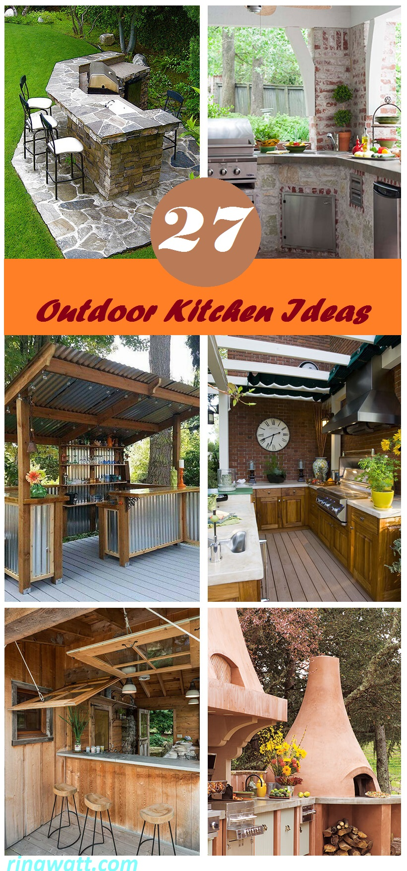 27 Amazing Outdoor Kitchen Ideas Your