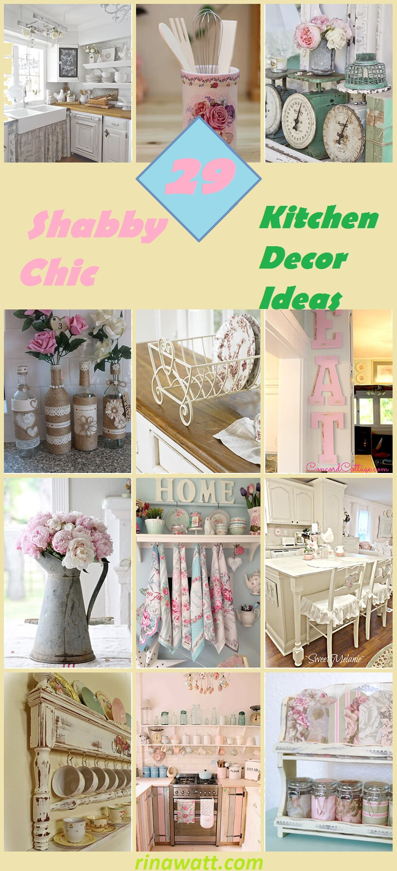 29 Gorgeous Shabby Chic Kitchen Decor Ideas That Are Comfy Cozy And