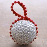DIY Sequined Christmas Ornament 11