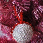 DIY Sequined Christmas Ornament 12