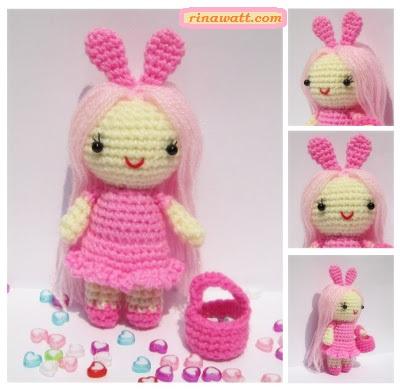 Amigurumi Doll Zühre Free Crochet Pattern in 2020   Crochet ...   391x400