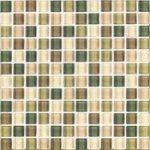 foliage glass tile