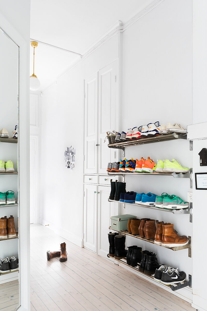 Modern Heavy Duty Shoe Wall