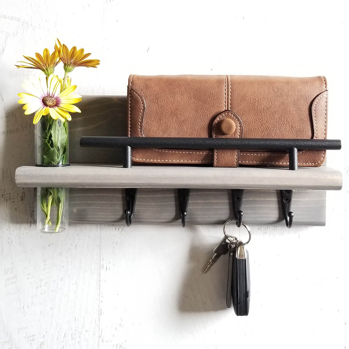Farmhouse Key Keeper for Wall Mount Organization