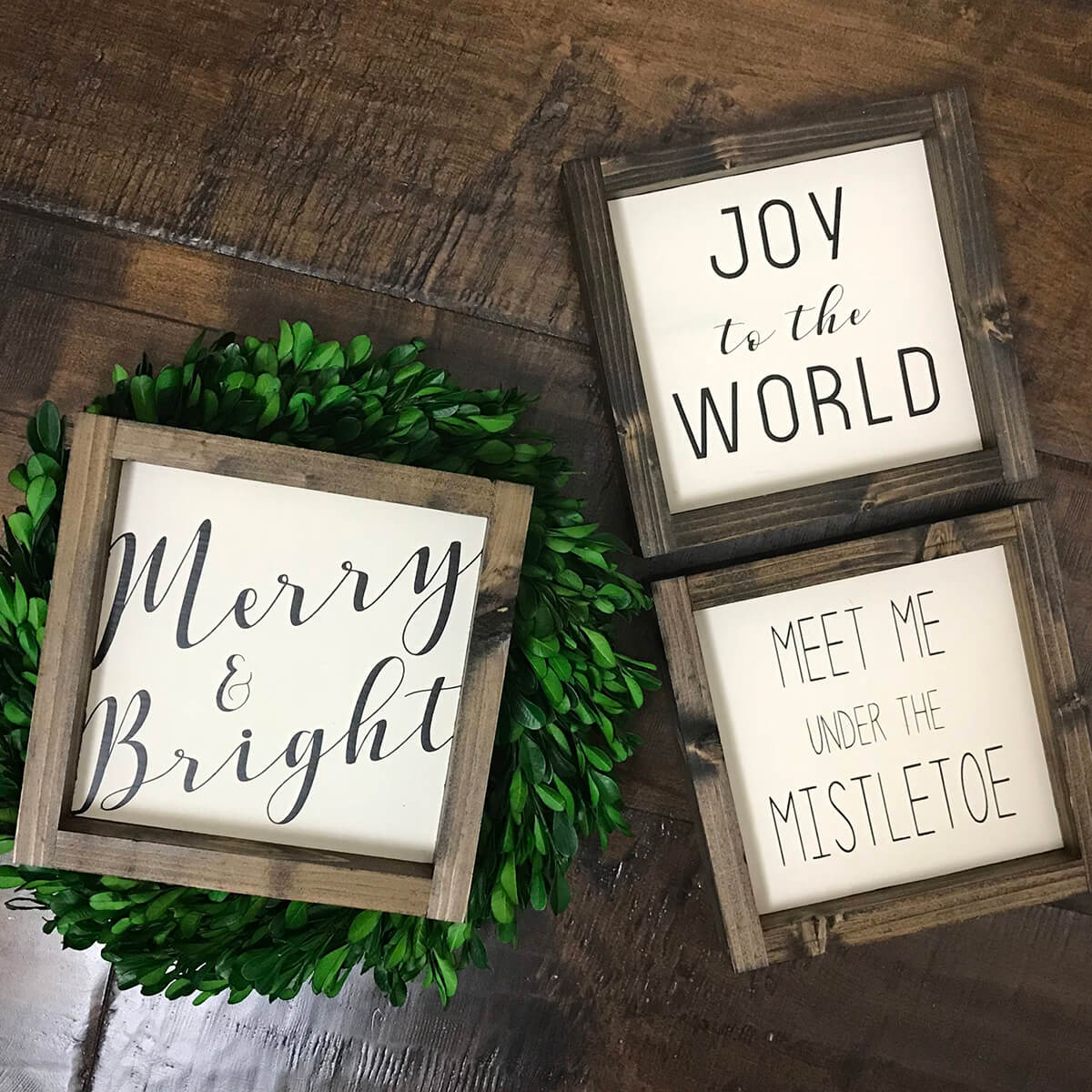 Mini Christmas Quotes Ornaments