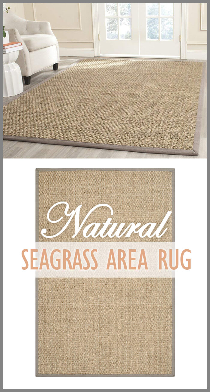 Earthy & Natural Seagrass Area Rug