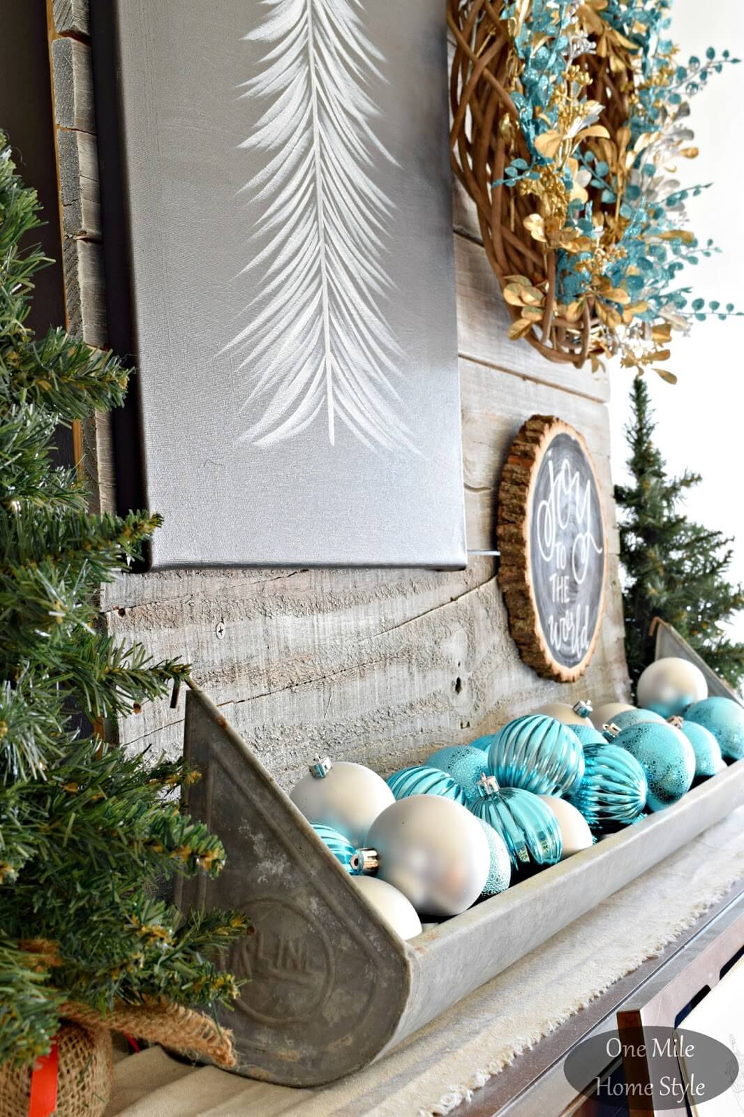 Overflowing Ornaments of Holiday Joy