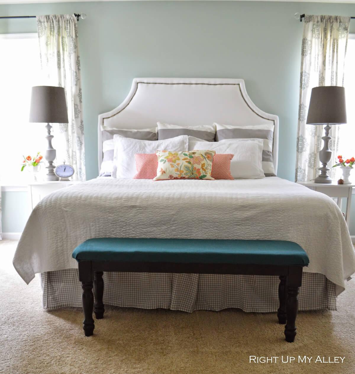 Contemporary Sleek & Serene Master Bedroom