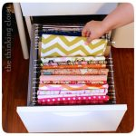 Sewing Fabric File Organizing Drawer
