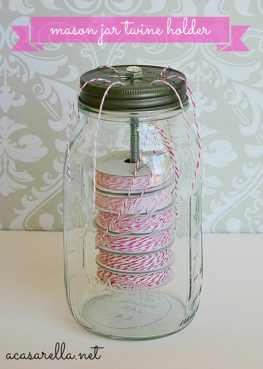 No Whining About Twining Storage Jar
