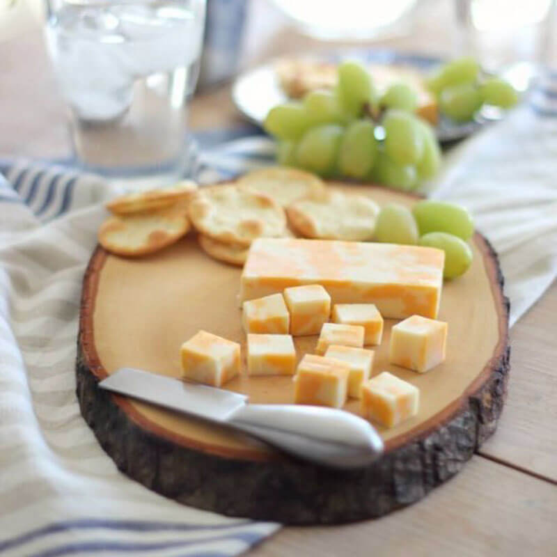 Wooden Grazing Board Straight Out of a Magazine