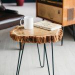Live Edge And Polished Wood Table