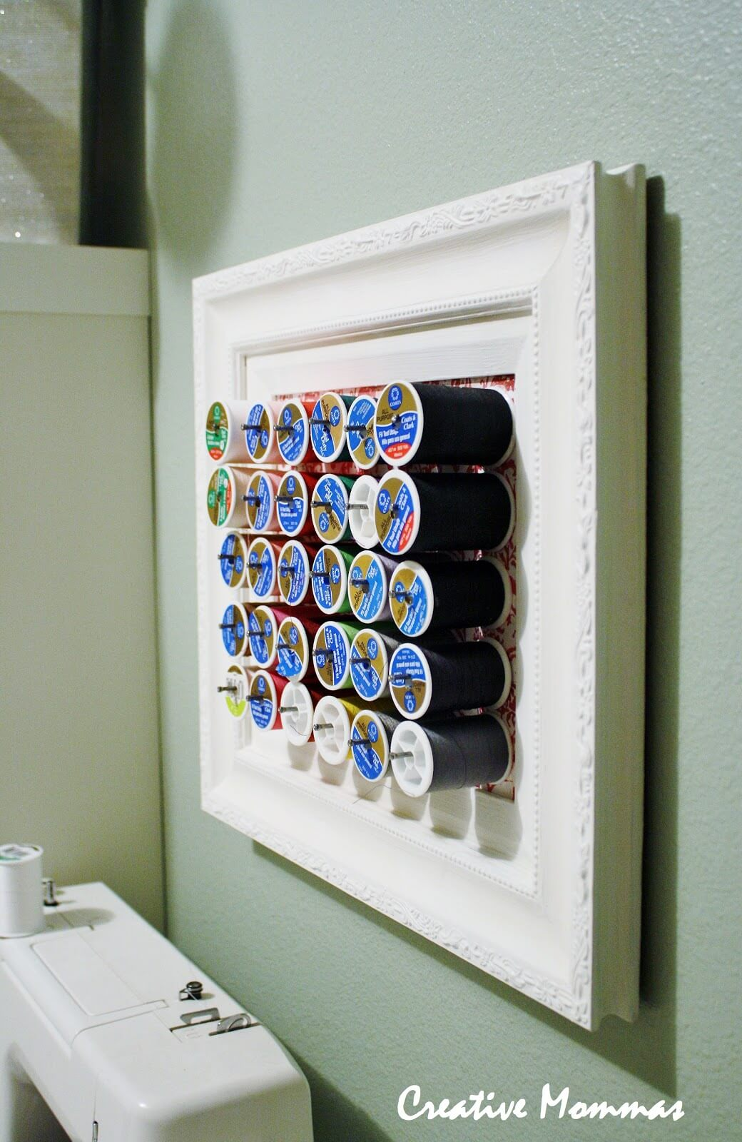 Frame It And Hang It Spool Organizer