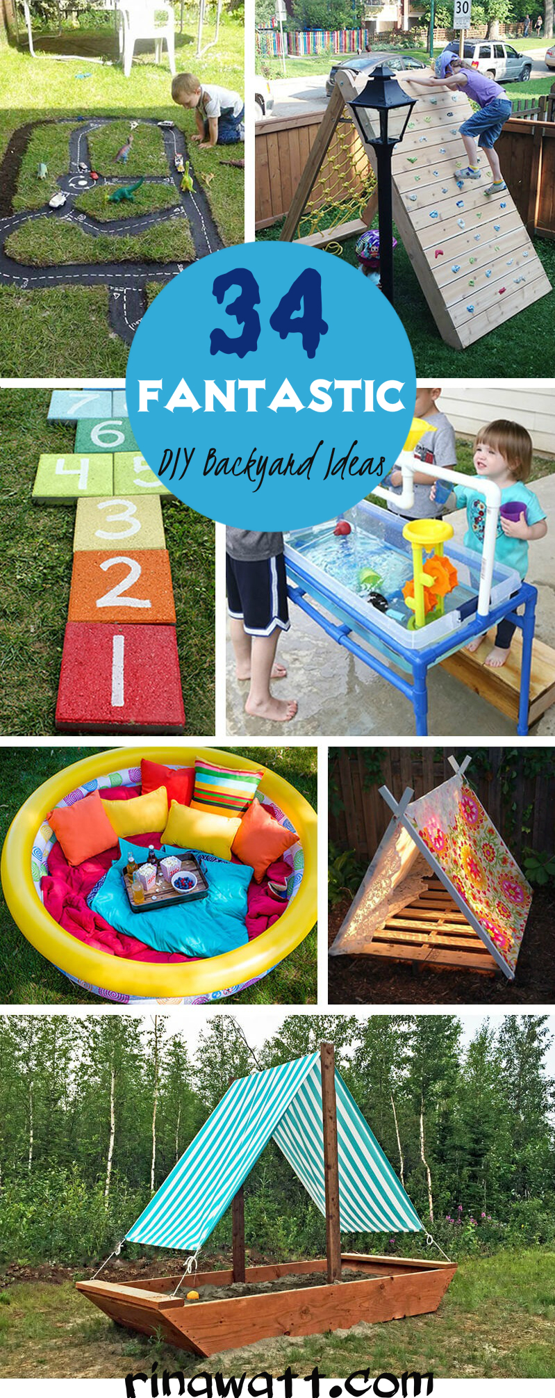 34 Fantastic Diy Backyard Ideas For Kids That Are Easy To Make Rina Watt Blogger Home Decor And Recipes